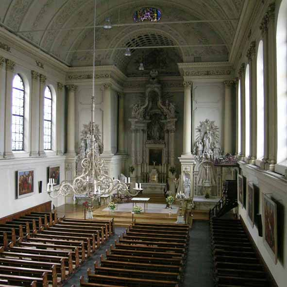 Augustinuskerk interieur