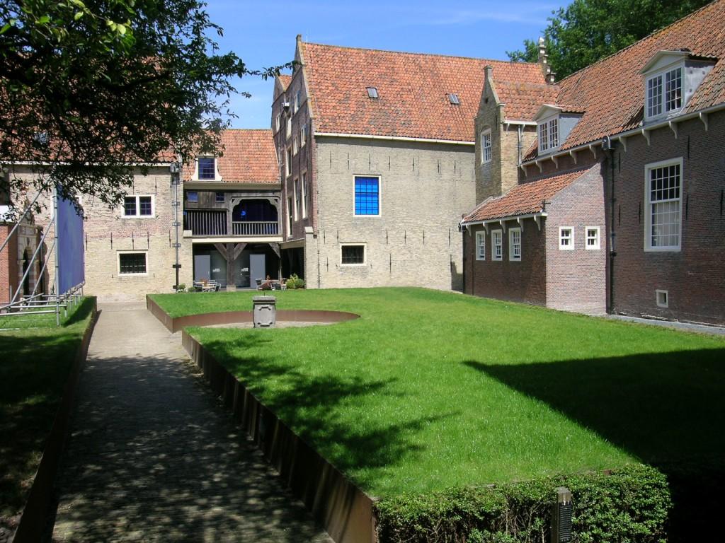 Binnenplaats zuiderzeemuseum