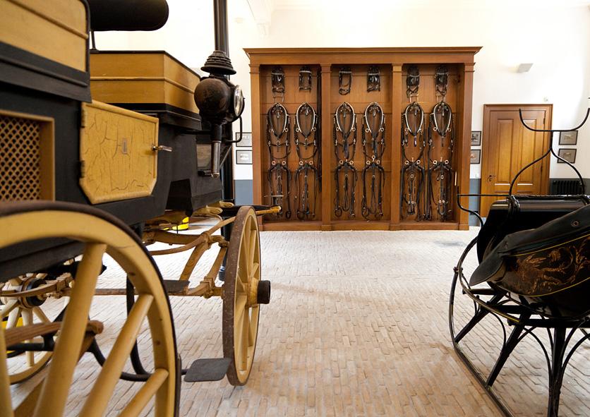Museum Van Loon impressie koetshuis